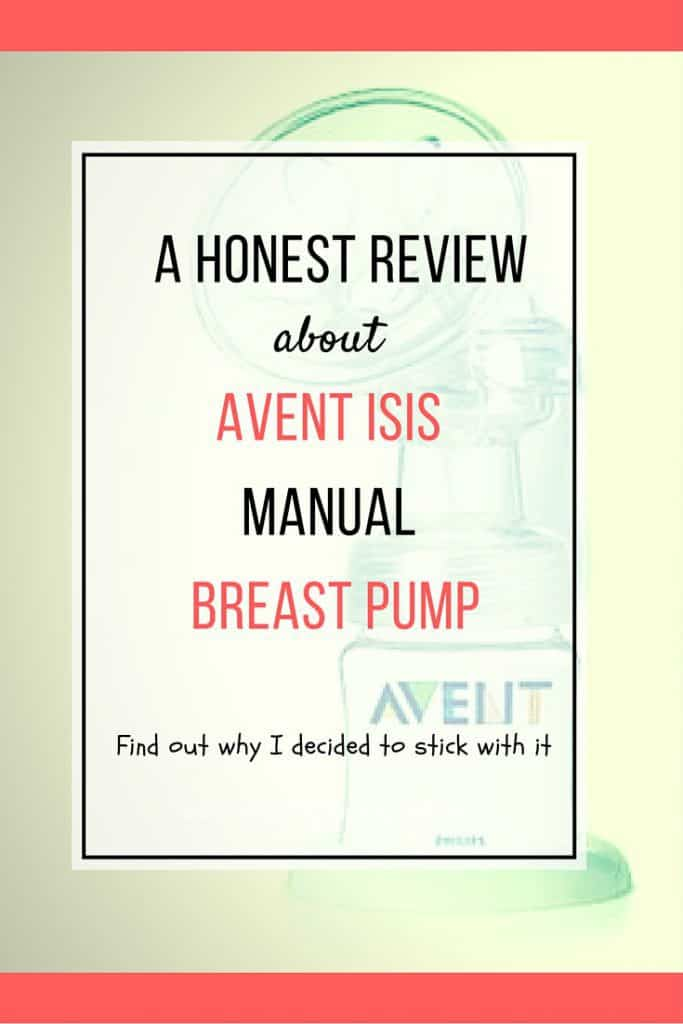 This pump is an old model, but still, it is one of my favorite breast pump. Find out why I stick with Avent Isis manual breast pump in this detailed reviews.