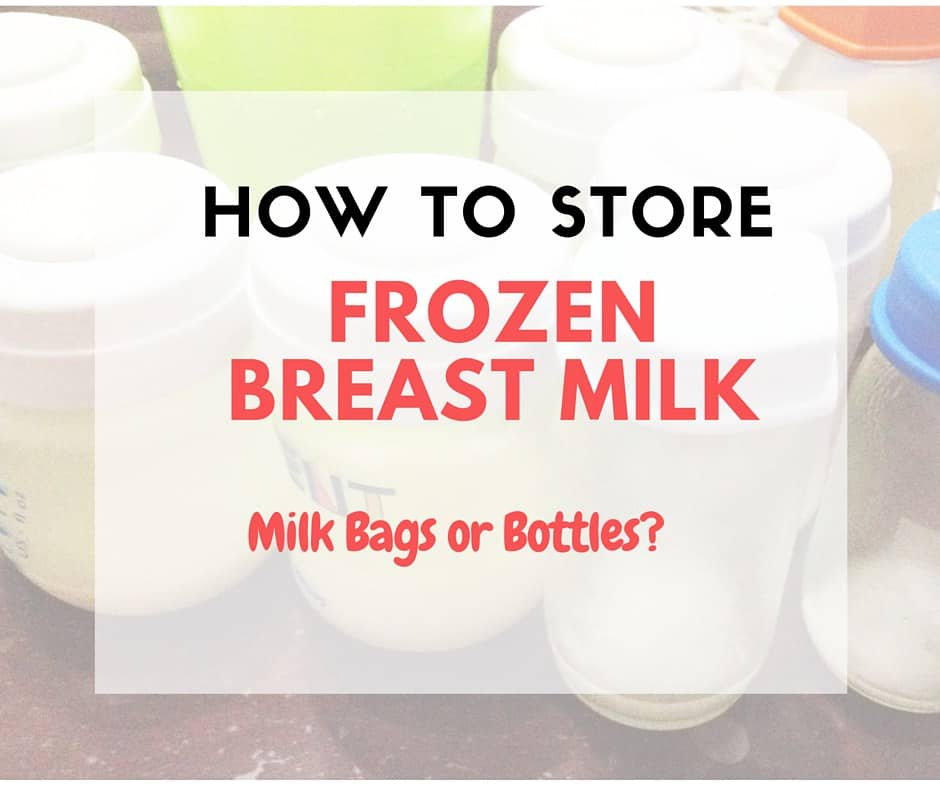 How to Store Frozen Breast Milk Living with Low Milk Supply