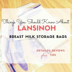 lansinoh breast milk storage bag reviews