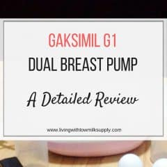 Gaksmil G1 breast pump reviews 2