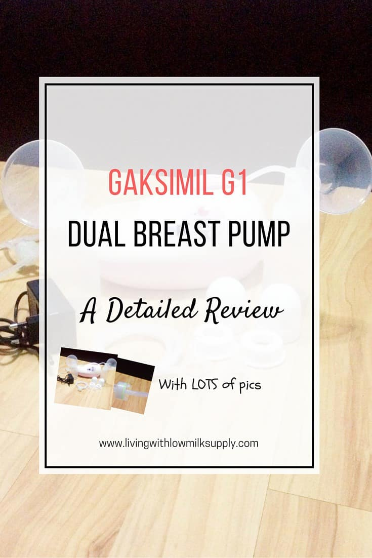 gaksimil G1 breast pump reviews - detailed pros and cons