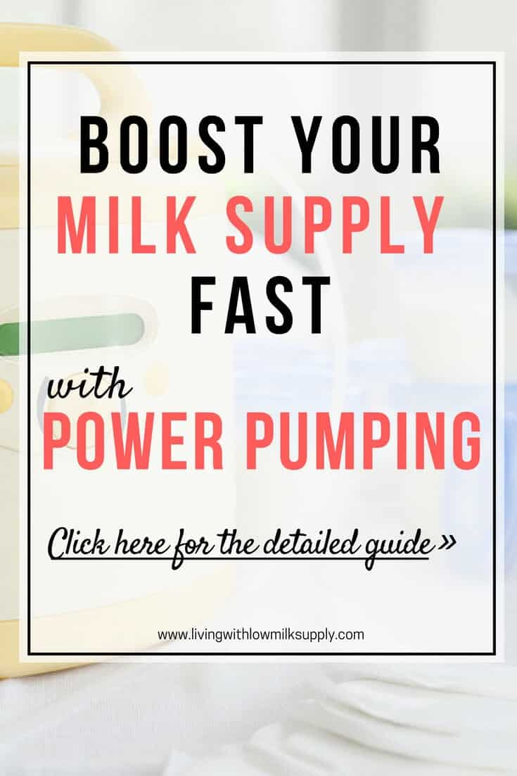 Do you want to increase your milk supply fast? Do power pumping! Learn how to do power pumping in this step by step guide, includes tips and tricks, case studies, and samples of pumping schedule. Yes, power pumping can increase your milk supply as fast as in 48 hours. Click through to learn more.