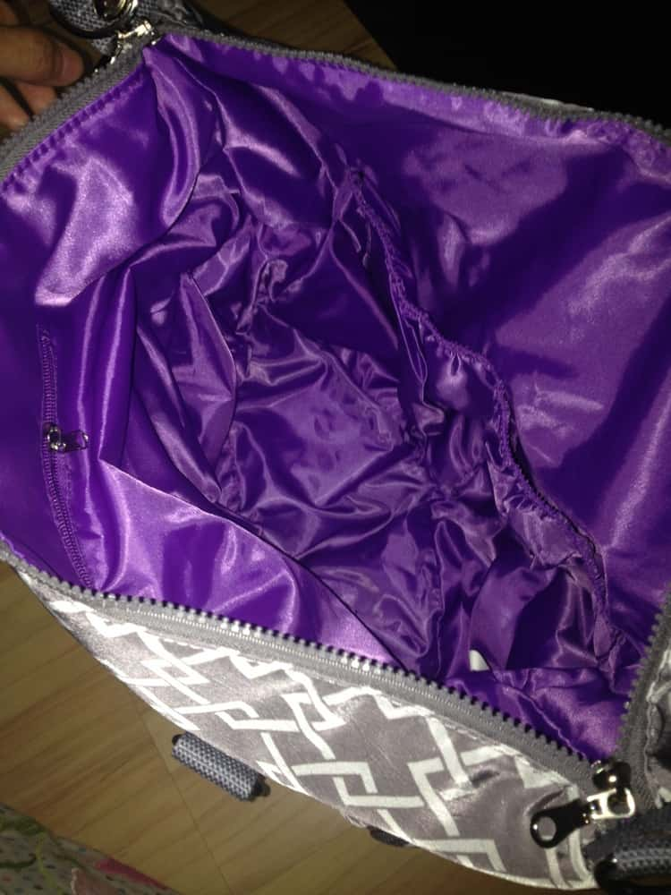 sarah wells lizzy bag perfectly flat