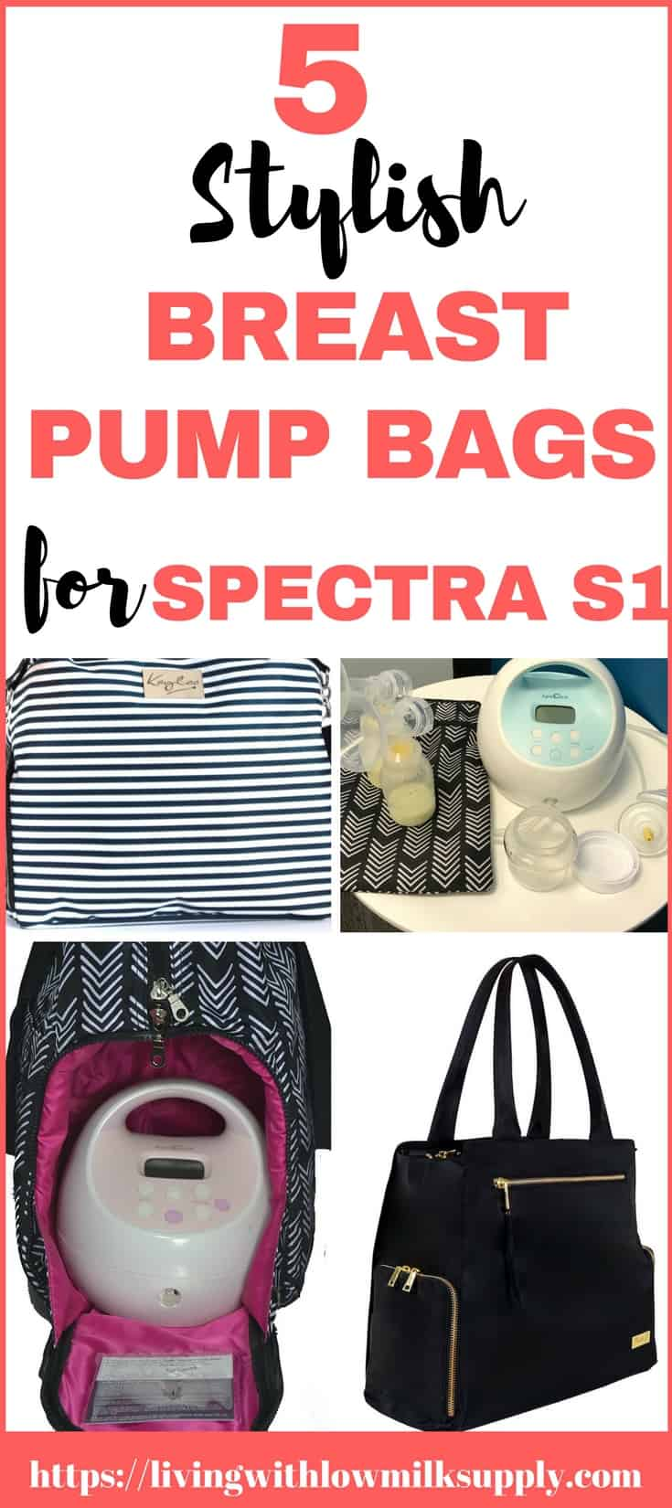 Are you looking for a stylish breast pump bag for Spectra breast pump? Check out these 5 most popular breast pump bags that fits Spectra S1, easy to organize and great for working moms