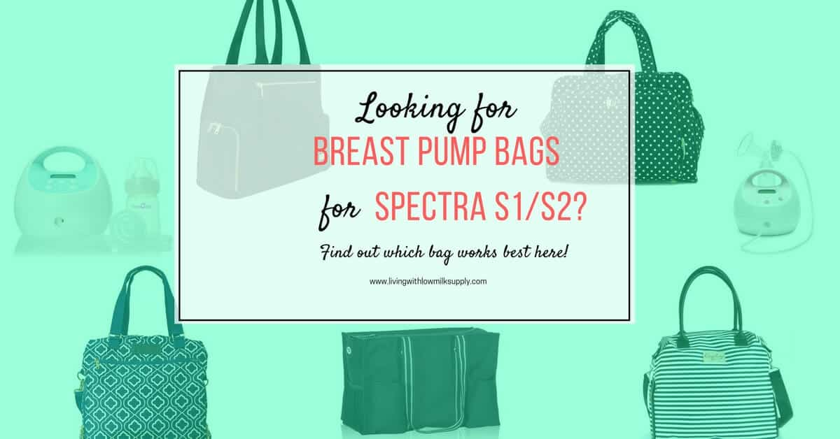 Spectra Breast Pump Bag For Spectra S1 And S2 Living