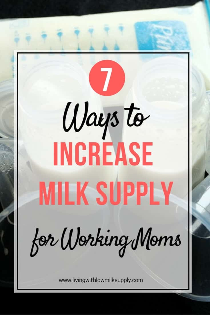 how to increase milk supply while pumping