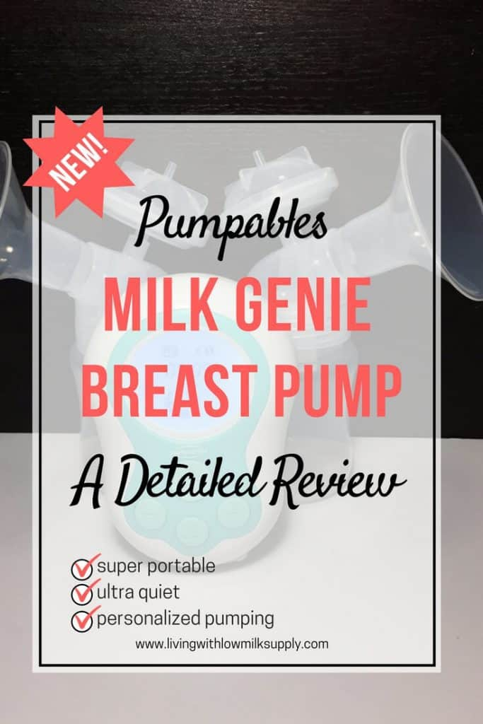 Looking a portable breast pump for pumping on the go? In this Milk Genie breast pump review, you'll see how portable and quiet it is, plus other pros and cons. Include videos!