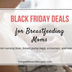 black friday deals for breastfeeding