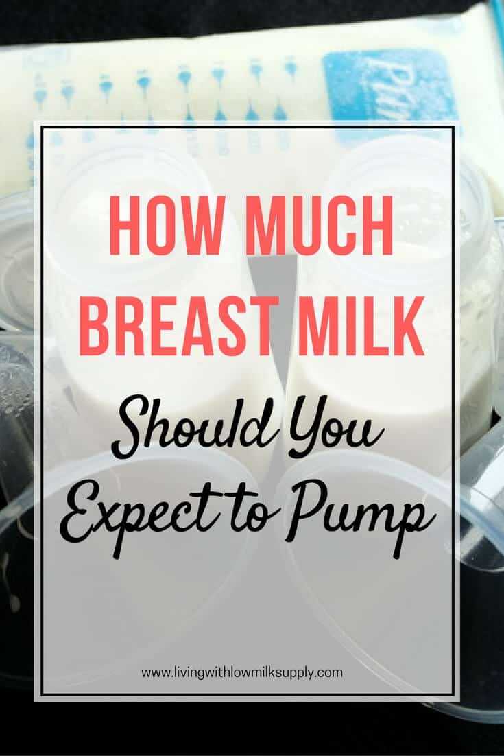 how much breast milk should I be pumping