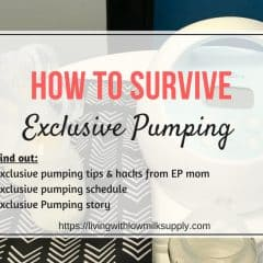 Surviving Exclusive Pumping | Tips & Pumping Schedule from An EP Mom
