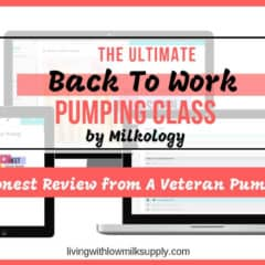 Milkology Back To Work Online Pumping Class Review