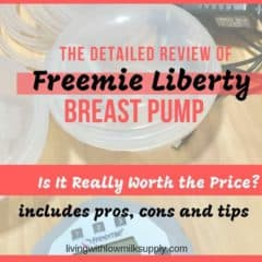 freemie liberty breast pump reviews