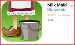 milk maid 1- best breast pumping apps for pumping moms